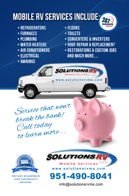 solutions rv postcard back
